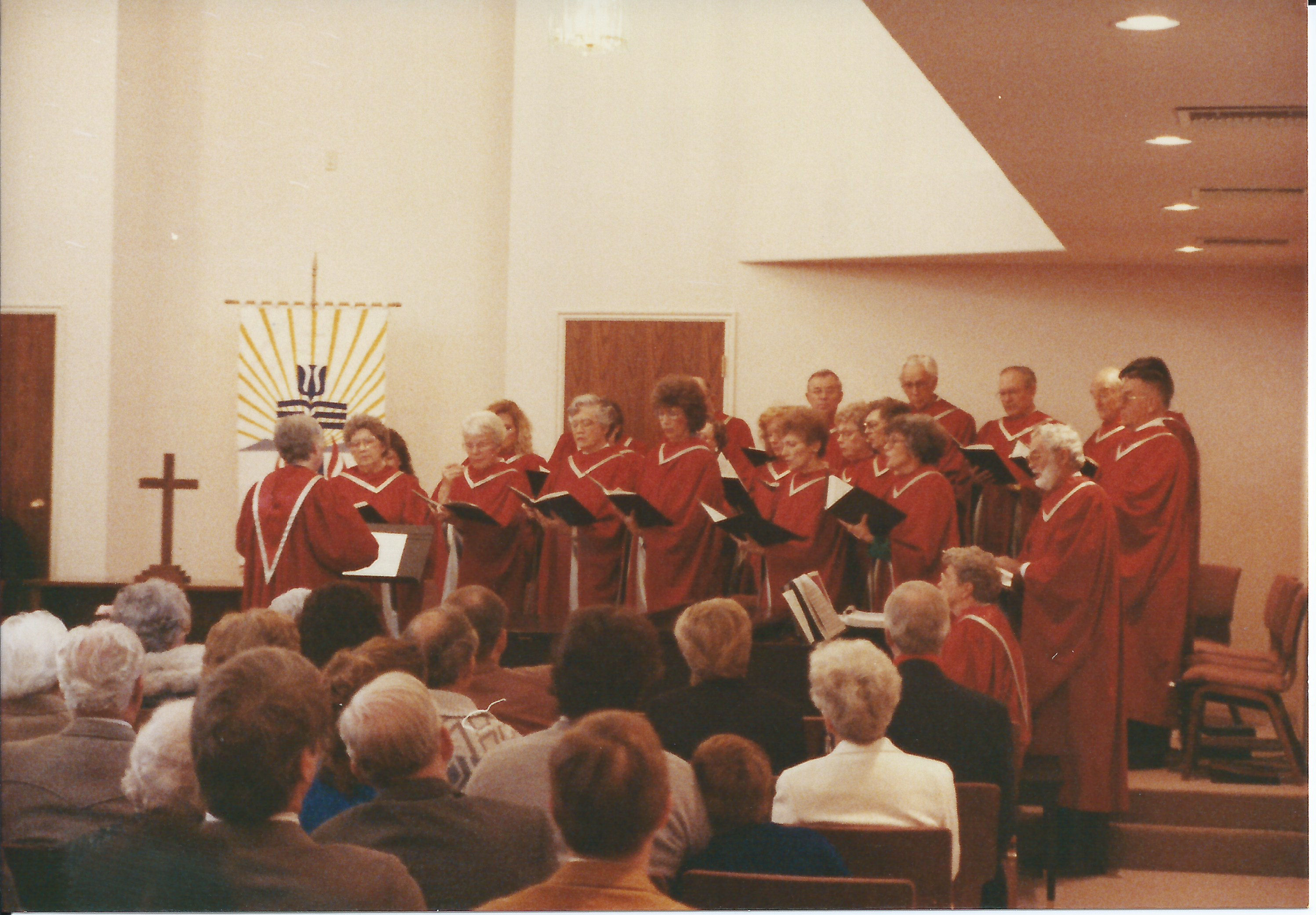 Choir at Dedication